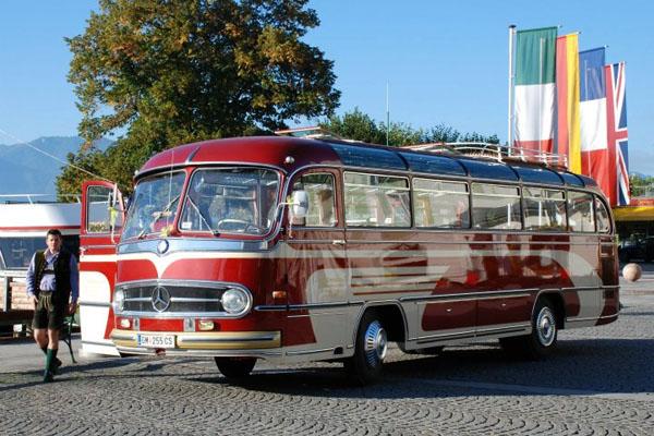 Oldtimerbus Salzkammergut 600x 400