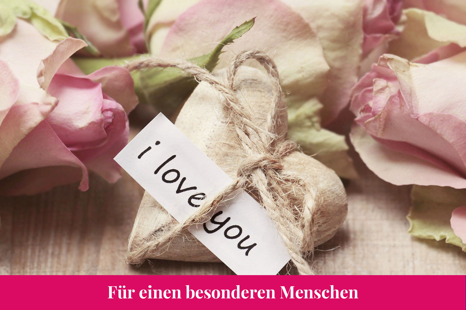 Reise-Gutschein - I love you
