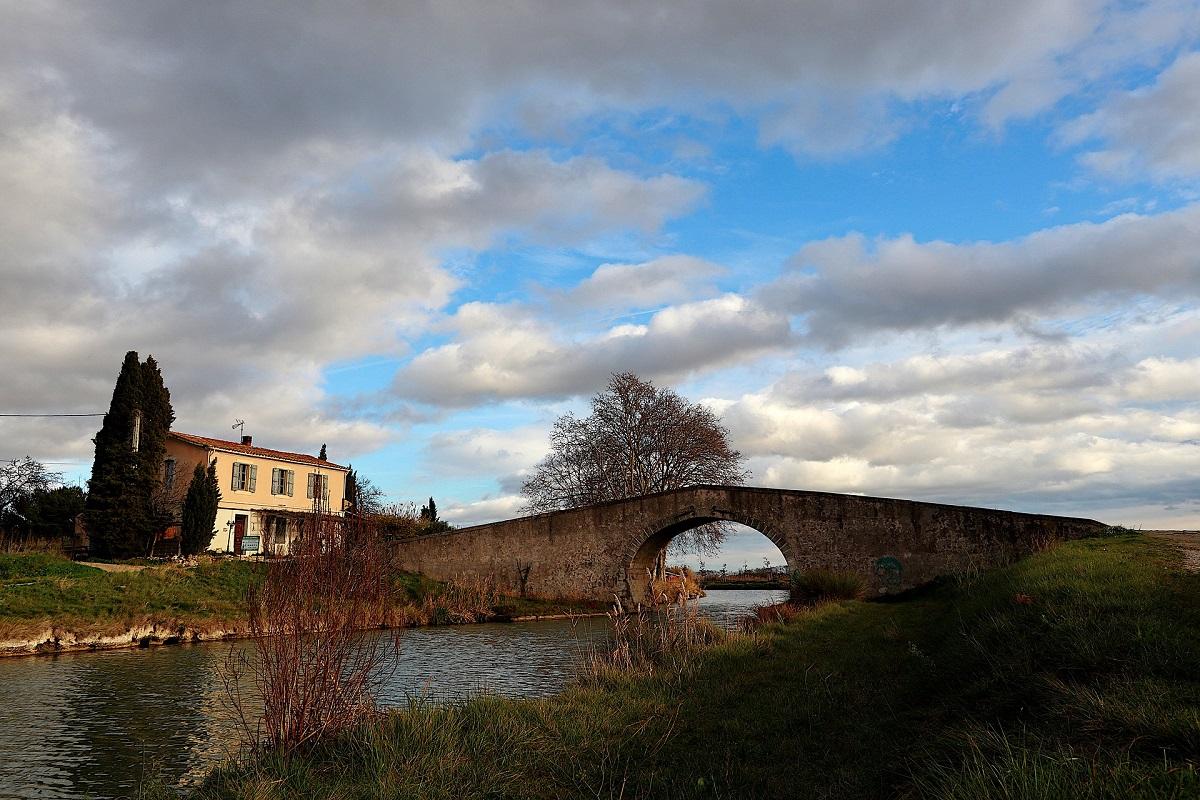 Canal du Midi Brücken