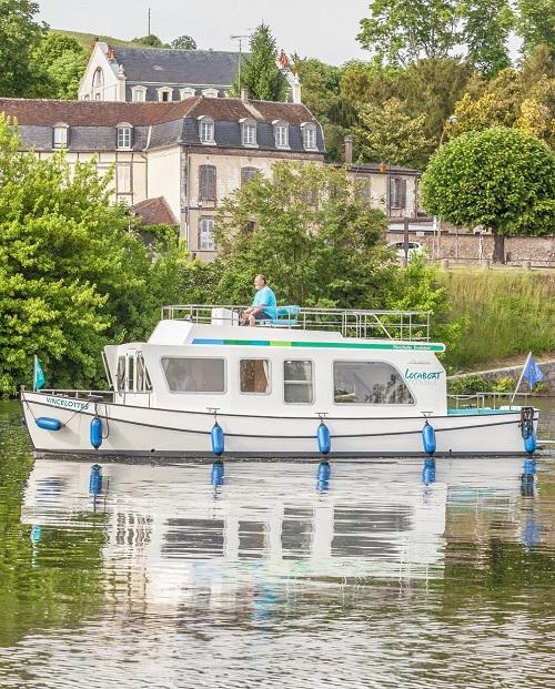 Canal du Midi mit Penichette